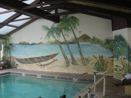 Hot Indoor Pool