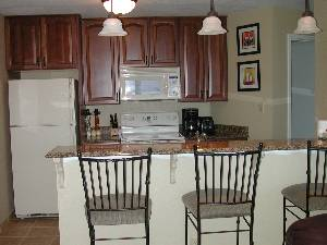 Granite Kitchen area