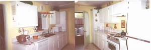 Kitchen split view