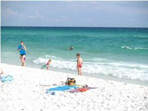 Nice family beach
