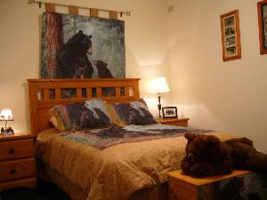 Bear Cave Bedroom