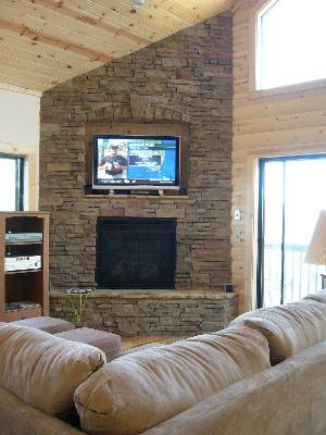 Fireplace/Plazma TV