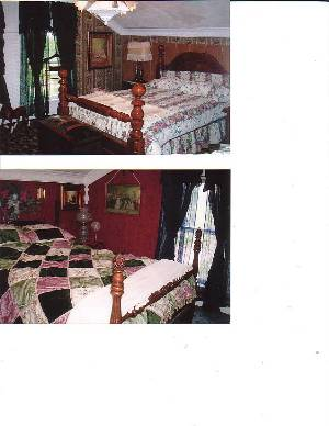 two of bedrooms