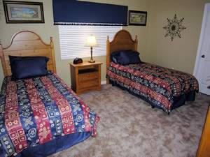 Twin Bedroom #2