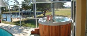 Jetted Hot tub