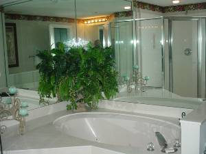 Oversized Jetted Tub