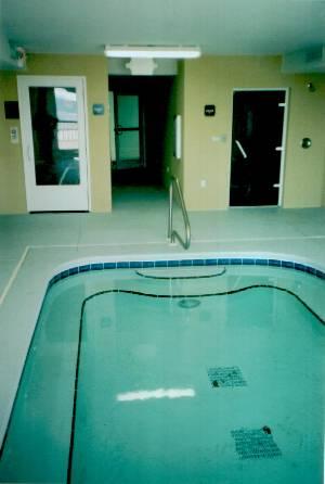 Indoor hot tub/ Spa