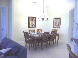 Dining area steats 6