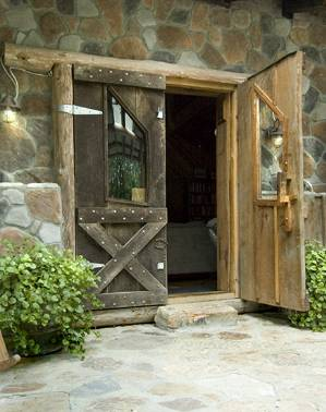 black walnut doors