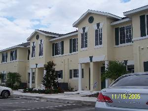 Front of Townhouse