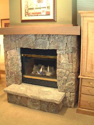 Mossrock Fireplace