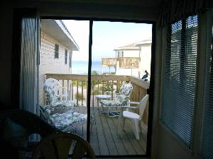 Deck facing Gulf