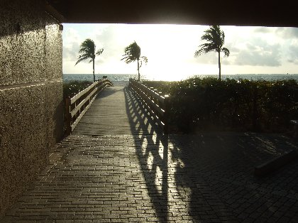WALKWAY TO BEACH